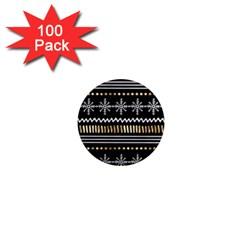 Kawaii Pattern 1  Mini Magnets (100 Pack)