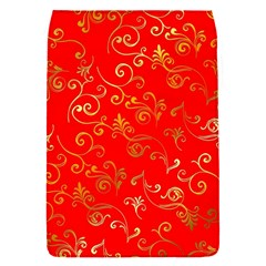 Golden Swrils Pattern Background Flap Covers (s)  by Nexatart