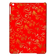 Golden Swrils Pattern Background Ipad Air Hardshell Cases