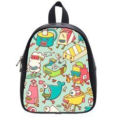 Summer Up Pattern School Bags (small)