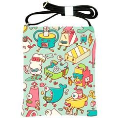 Summer Up Pattern Shoulder Sling Bags by Nexatart