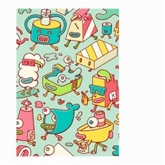 Summer Up Pattern Small Garden Flag (two Sides) by Nexatart