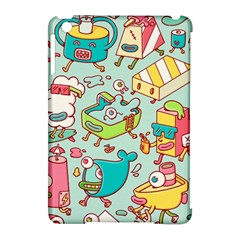 Summer Up Pattern Apple Ipad Mini Hardshell Case (compatible With Smart Cover) by Nexatart