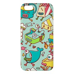 Summer Up Pattern Apple Iphone 5 Premium Hardshell Case