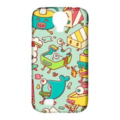 Summer Up Pattern Samsung Galaxy S4 Classic Hardshell Case (pc+silicone) by Nexatart