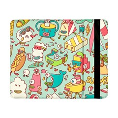 Summer Up Pattern Samsung Galaxy Tab Pro 8 4  Flip Case by Nexatart