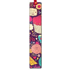 Cute Colorful Doodles Colorful Cute Doodle Paris Large Book Marks by Nexatart