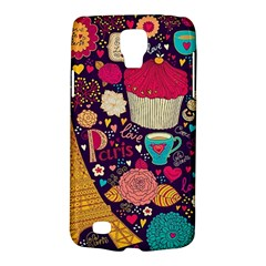 Cute Colorful Doodles Colorful Cute Doodle Paris Galaxy S4 Active by Nexatart