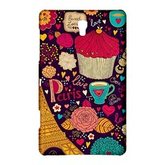 Cute Colorful Doodles Colorful Cute Doodle Paris Samsung Galaxy Tab S (8 4 ) Hardshell Case