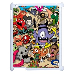 Hipster Wallpaper Pattern Apple Ipad 2 Case (white)
