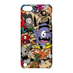 Hipster Wallpaper Pattern Apple Ipod Touch 5 Hardshell Case With Stand by Nexatart