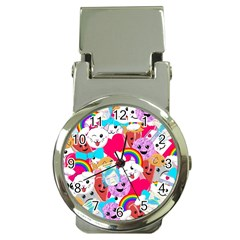 Cute Cartoon Pattern Money Clip Watches by Nexatart