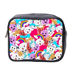 Cute Cartoon Pattern Mini Toiletries Bag 2 Side by Nexatart
