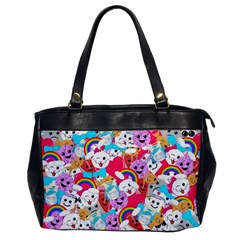 Cute Cartoon Pattern Office Handbags