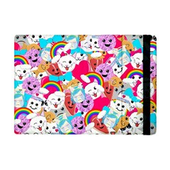 Cute Cartoon Pattern Apple Ipad Mini Flip Case