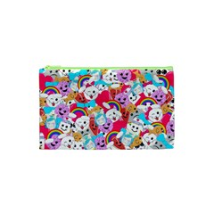 Cute Cartoon Pattern Cosmetic Bag (xs)