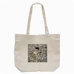 Cute Doodles Tote Bag (cream) by Nexatart