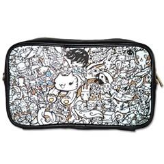 Cute Doodles Toiletries Bags by Nexatart