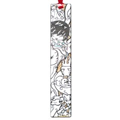Cute Doodles Large Book Marks by Nexatart
