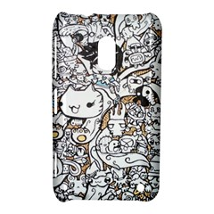 Cute Doodles Nokia Lumia 620 by Nexatart