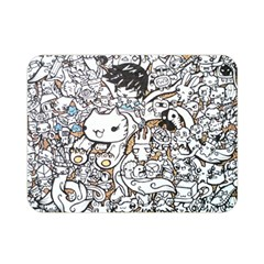 Cute Doodles Double Sided Flano Blanket (mini)  by Nexatart