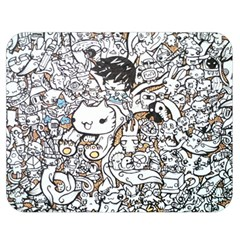 Cute Doodles Double Sided Flano Blanket (medium)  by Nexatart