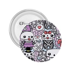 Kawaii Graffiti And Cute Doodles 2 25  Buttons by Nexatart