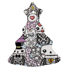 Kawaii Graffiti And Cute Doodles Ornament (christmas Tree)  by Nexatart
