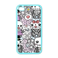 Kawaii Graffiti And Cute Doodles Apple Iphone 4 Case (color) by Nexatart