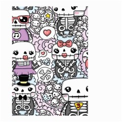 Kawaii Graffiti And Cute Doodles Small Garden Flag (two Sides)