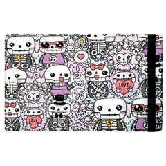 Kawaii Graffiti And Cute Doodles Apple Ipad 2 Flip Case by Nexatart