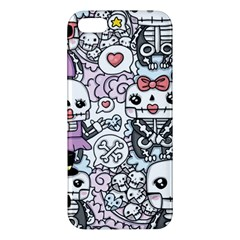 Kawaii Graffiti And Cute Doodles Apple Iphone 5 Premium Hardshell Case