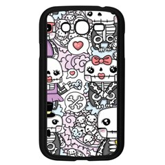 Kawaii Graffiti And Cute Doodles Samsung Galaxy Grand Duos I9082 Case (black) by Nexatart