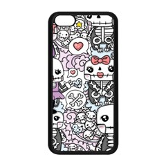 Kawaii Graffiti And Cute Doodles Apple Iphone 5c Seamless Case (black)