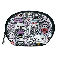 Kawaii Graffiti And Cute Doodles Accessory Pouches (medium)