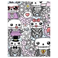 Kawaii Graffiti And Cute Doodles Drawstring Bag (large) by Nexatart