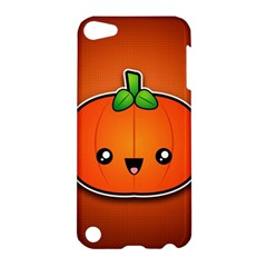 Simple Orange Pumpkin Cute Halloween Apple Ipod Touch 5 Hardshell Case