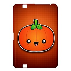 Simple Orange Pumpkin Cute Halloween Kindle Fire Hd 8 9  by Nexatart