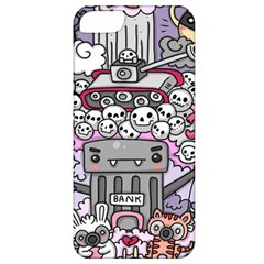 0 Sad War Kawaii Doodle Apple Iphone 5 Classic Hardshell Case