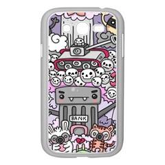 0 Sad War Kawaii Doodle Samsung Galaxy Grand Duos I9082 Case (white)