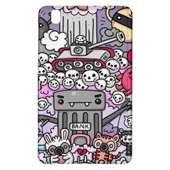 0 Sad War Kawaii Doodle Samsung Galaxy Tab Pro 8 4 Hardshell Case