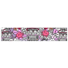 0 Sad War Kawaii Doodle Flano Scarf (small) by Nexatart