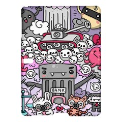 0 Sad War Kawaii Doodle Samsung Galaxy Tab S (10 5 ) Hardshell Case  by Nexatart
