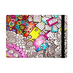 Beautiful Colorful Doodle Apple Ipad Mini Flip Case