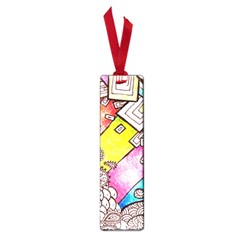 Beautiful Colorful Doodle Small Book Marks by Nexatart