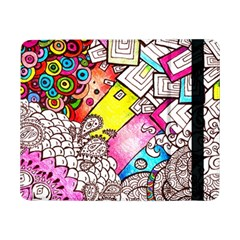 Beautiful Colorful Doodle Samsung Galaxy Tab Pro 8 4  Flip Case