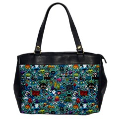 Colorful Drawings Pattern Office Handbags by Nexatart