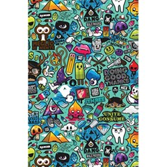 Colorful Drawings Pattern 5 5  X 8 5  Notebooks by Nexatart