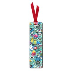 Colorful Drawings Pattern Small Book Marks by Nexatart