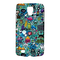 Colorful Drawings Pattern Galaxy S4 Active by Nexatart